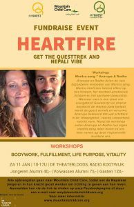 Anarupa Music, Heartfire, Mountain Child Care, Myquest